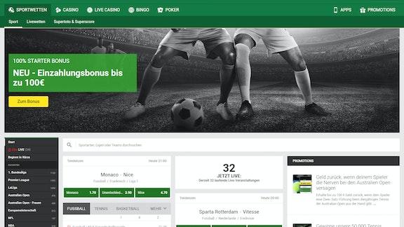 Zum Bundesliga-Start: Neuer Unibet Bonus